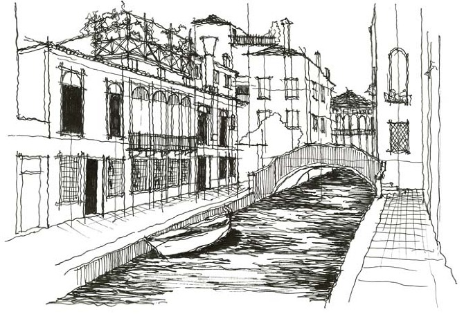 Pin freehand architecture on pinterest for Online architecture drawing