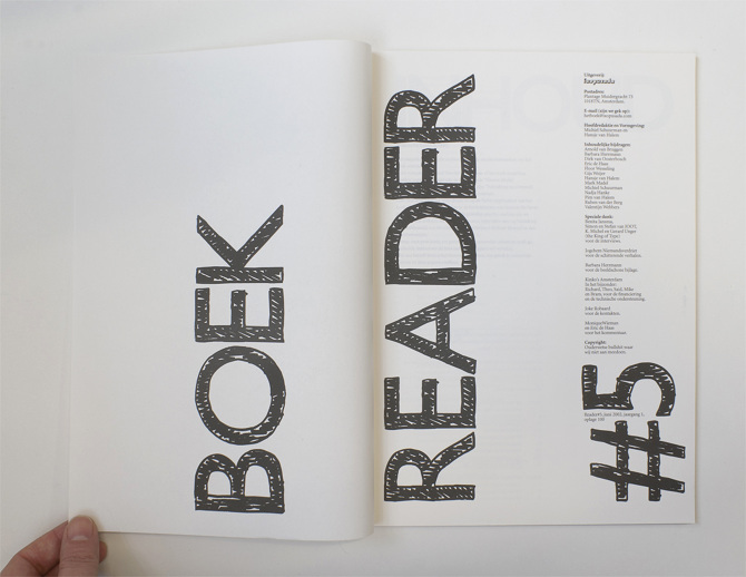 Reader magazine for Joot work
