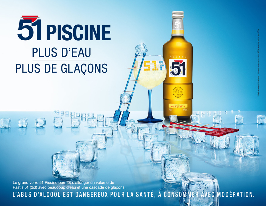 Pastis 51 piscine jocelyn chabanis copywriter for What does piscine mean in french