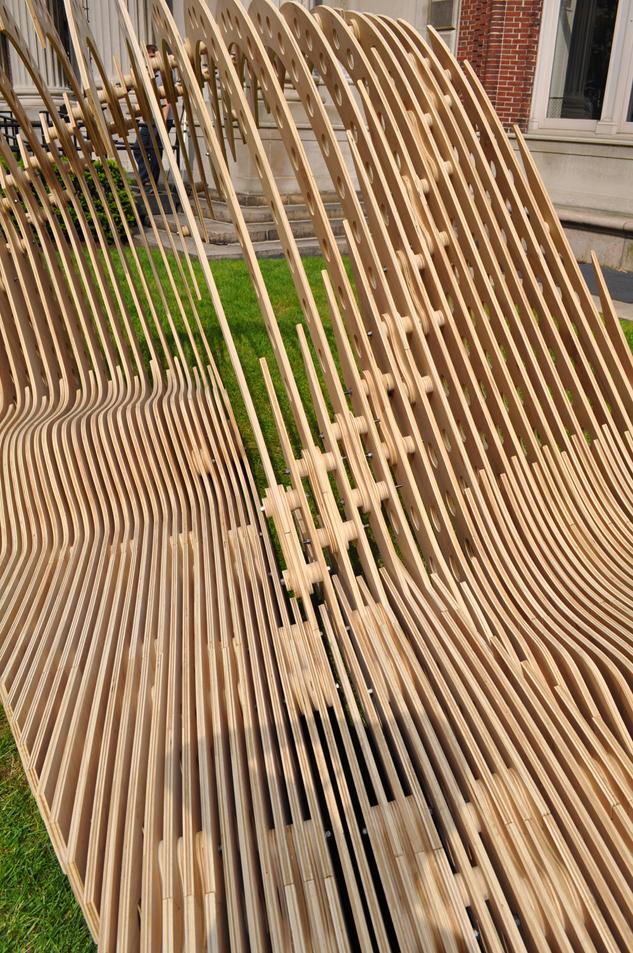 Visual Permeability Pavilion Aaron Berman Architecture