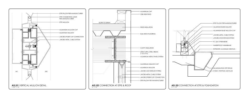 Etfe Infill Aaron Berman Architecture