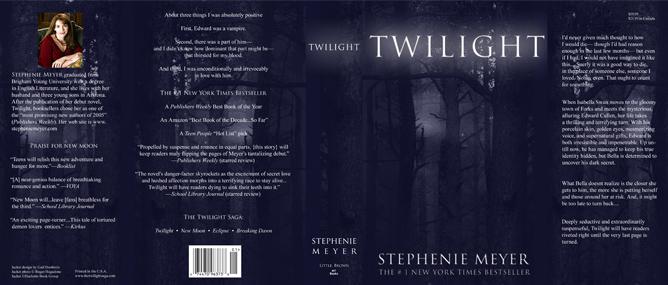 Book Cover Black Jacket : Twilight book jacket jordan emily adams