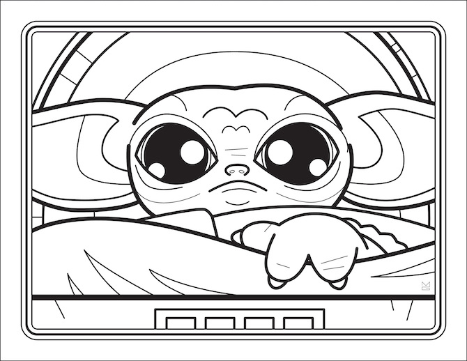Yoda Coloring Page Coloring Pages   Star wars kids, Star wars ...   518x670