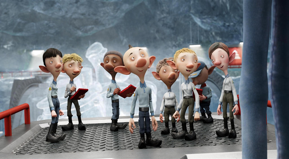 DETAILS FEATURE FILM \u0027Arthur Christmas\u0027 , Evan Parsons