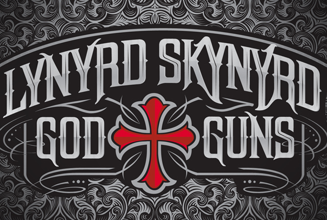 Lynyrd Skynyrd God Amp Guns Ed Sherman Art Direction