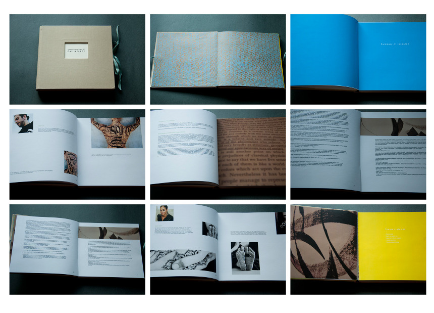 Thesis Process Book Phenomenology Amouzdesign