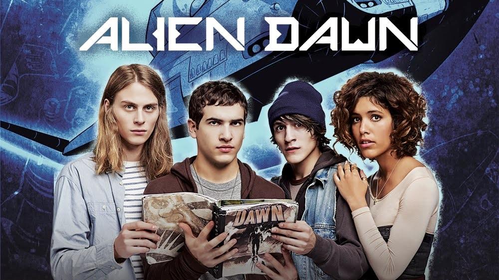 Nickelodeon Alien Dawn Jeff Croghan