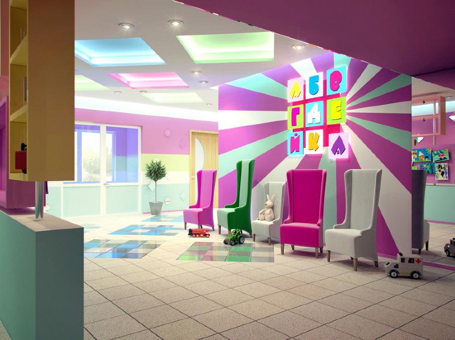 Дизайн сайта детского сада