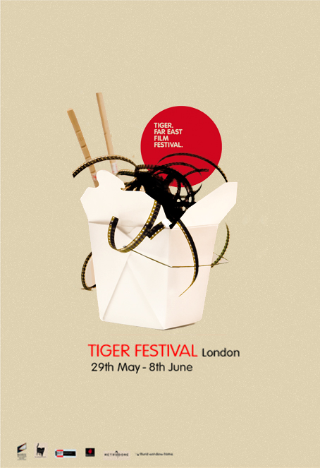 II Tiger Film Fest Far East Festival Of London 2007 We Worked With Maria Anton The Campaign Ranges From Poster Design To Adaptations Like Flyers
