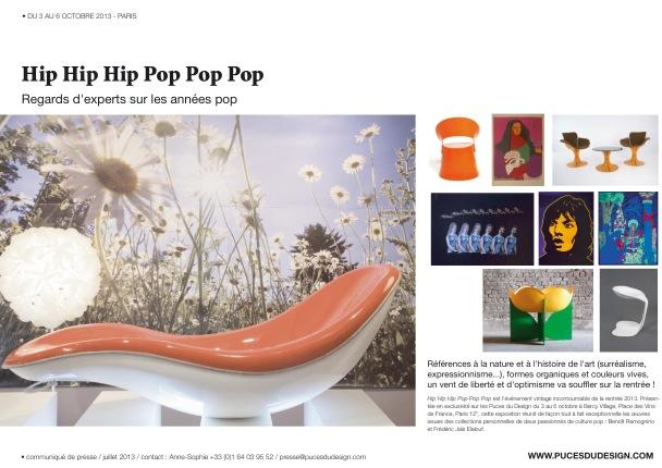 les puces du design 2013 velvet galerie mobilier. Black Bedroom Furniture Sets. Home Design Ideas