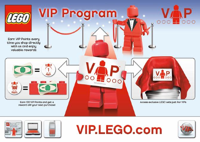 LEGO VIP Rebrand - benjaminwatts.com