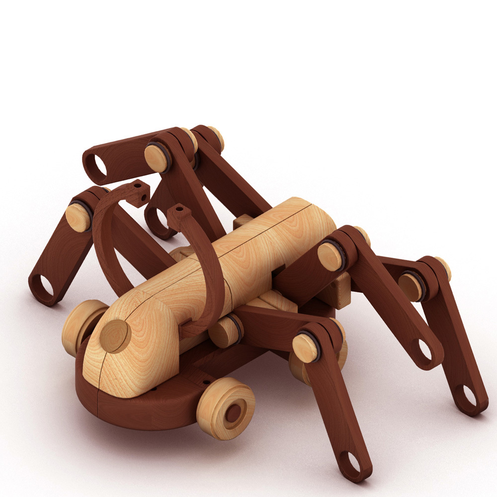 Old fashioned wooden toys for kids 47