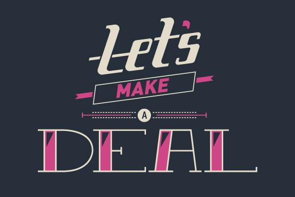 Custom Typography - Eden Weingart