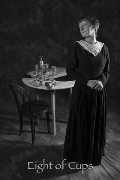 Eight of Cups - The Salem Arcanum Tarot