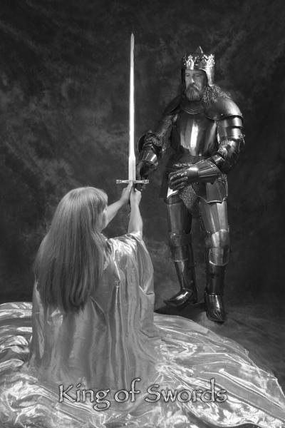 King of Swords - The Salem Arcanum Tarot