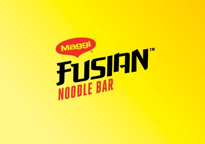 Maggi Fusian Noodle Bar national experiential marketing campaign ... | {Maggi logo 48}