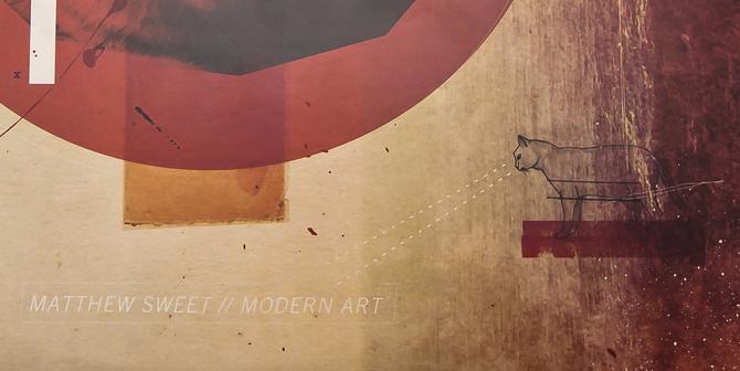 Matthew Sweet Modern Art Casquette Studio