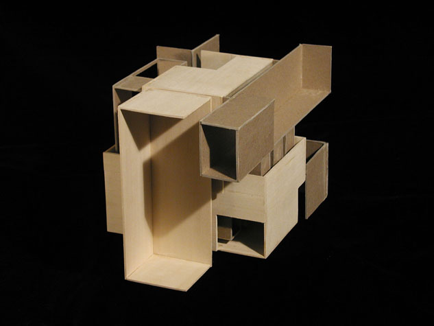 student works  spatial composition