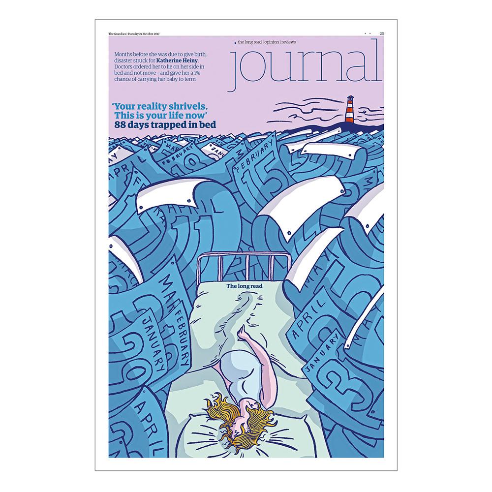 The Guardian Long Read - Dom McKenzie Illustration & Design