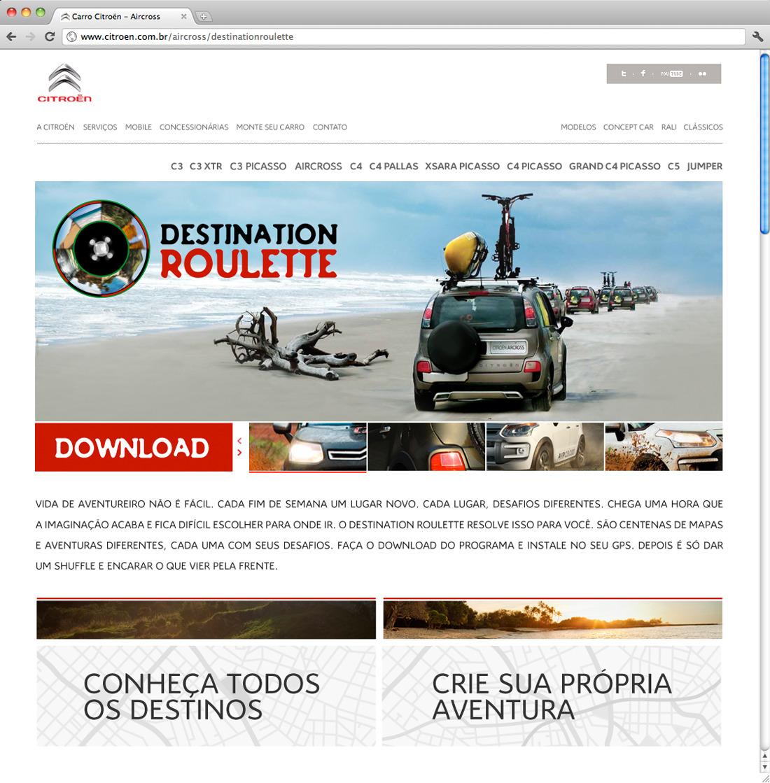 citroën aircross - internet / ação - andremaia - Personal