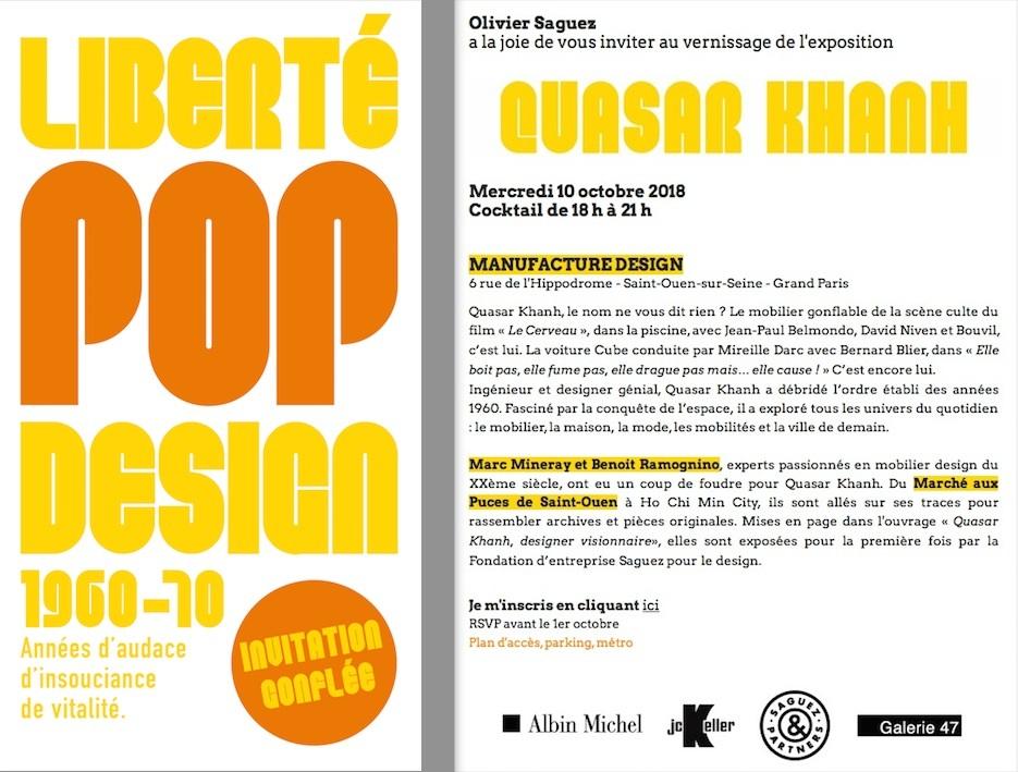 Quasar Khanh Galerie 47 20th Century Furniture Design
