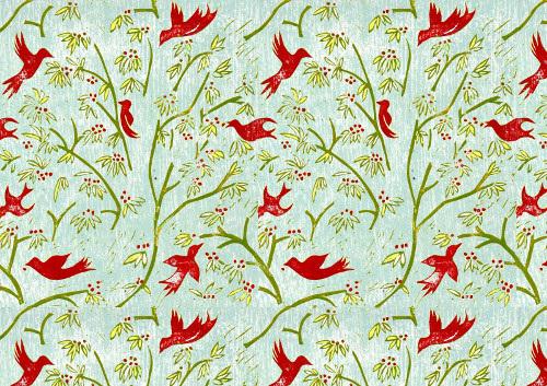 bird pattern phoebeswan