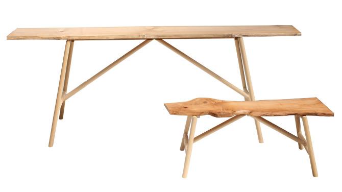 Waney Edge Tables Reikokanekocouk