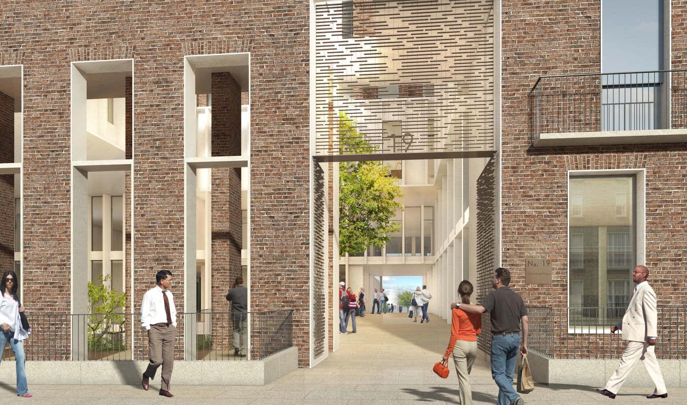 Head Offices, Electricity Supply Board, Dublin - Grafton