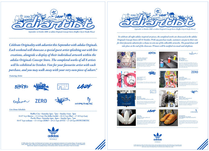 adidas Originals—adiartist - Hey Webster | Design Portfolio | Design