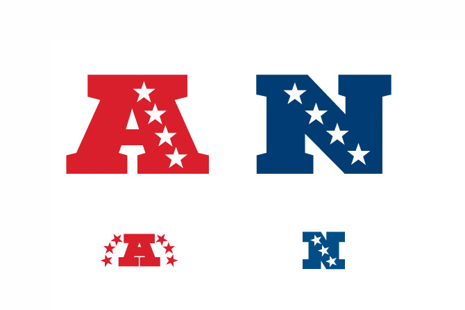 afc amp nfc logotrophy redesign youngren design