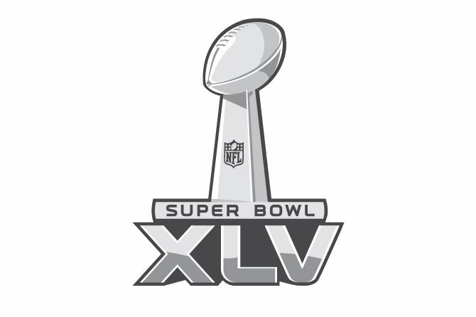 Super Bowl 45 Logo Super Bowl XLV logo - ...