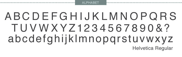 Helvetica - Fonts Are Your Friends