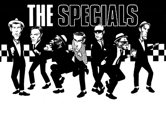 THE SPECIALS - riotink illustration
