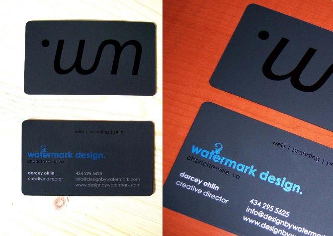 Watermark design business card defunctift colourmoves