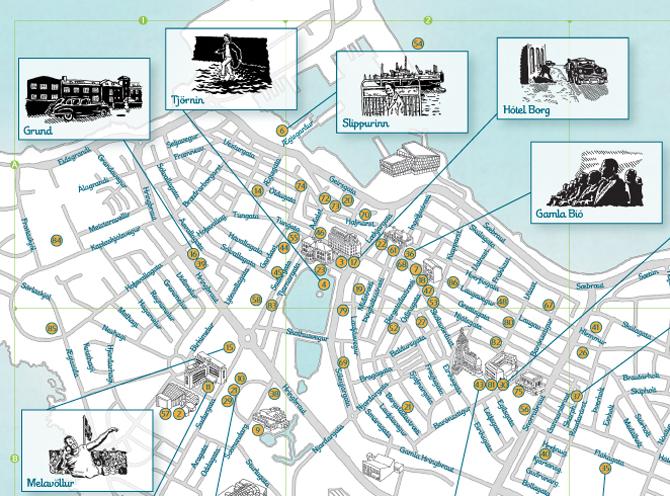 The Icelandic Film Map - Borgarmynd