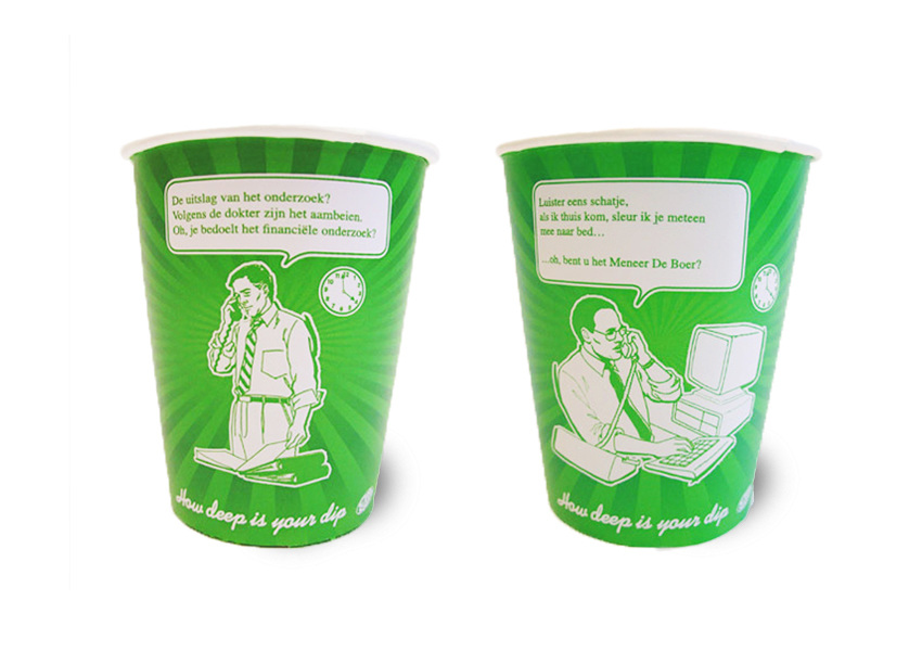 Verrassend Cup-a-soup How deep is your dip? - Walther Geerts Art Director PK-75