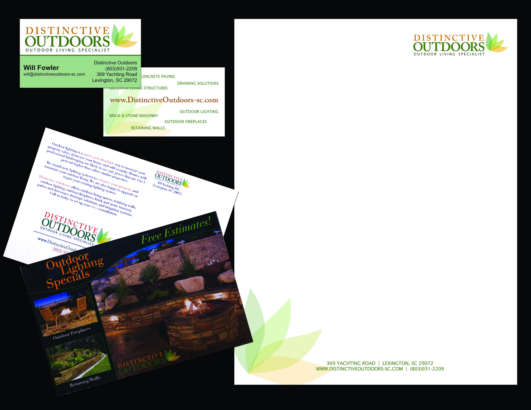 Distinctive Outdoors Branding Web Megan Mckenry