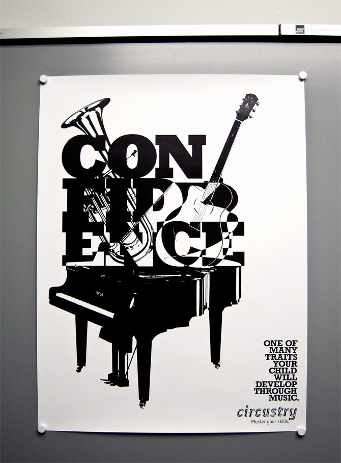 Music Education Poster Series - Victor Fong