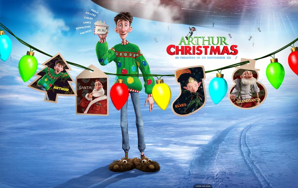 Arthur Christmas Poster.Digital Arthur Christmas Let S Go