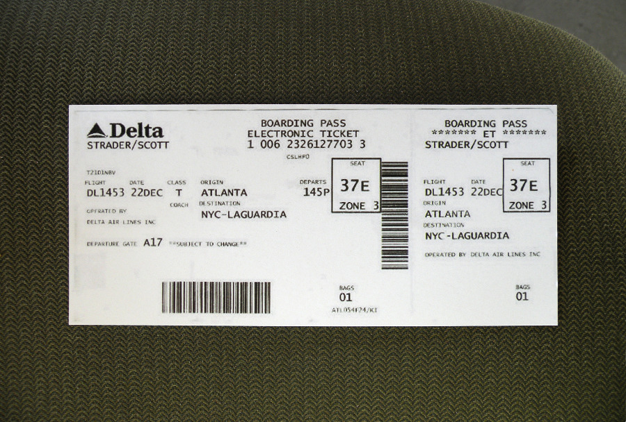 Delta Ticket Redesign  Scott Lyle