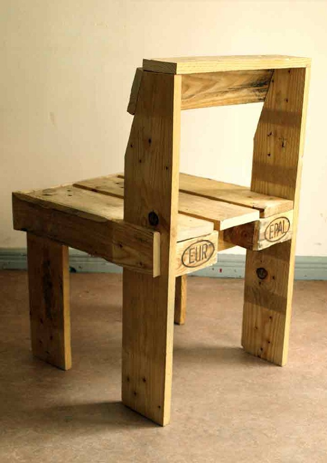 Pallet Chair Kito Colchester
