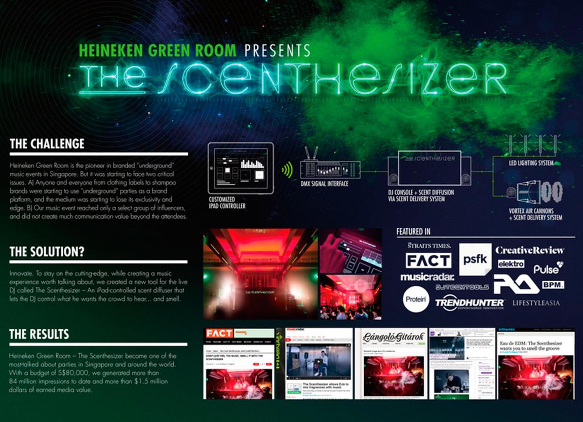Heineken Green Room : The Scenthesizer - Malcolm Wee