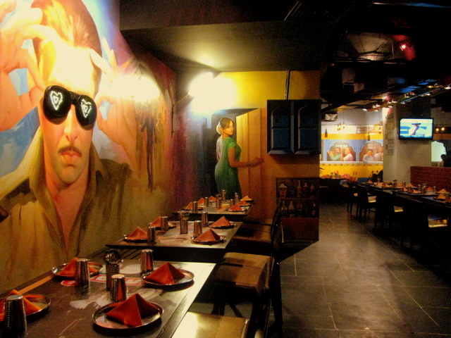 Oye Dhaba Stylization Of An Indian Theme Restaurant