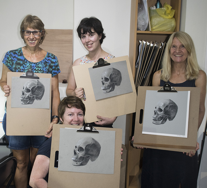 Drawing Classes - Brisbane - Ray Coffey - Brisbane Drawing