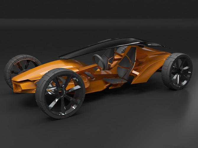 3D-Printed Car Model - talderry - Personal network