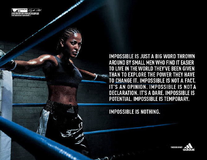 adidas- Impossible is Nothing - sean flores    art director 84c924add