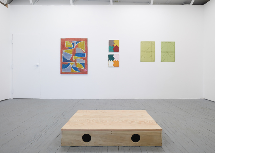 e6cceb1b Present Co. is delighted to open When / if, a visual excerpt from an  ongoing, transnational conversation between artists Calvin Burton  (Brooklyn) and ...