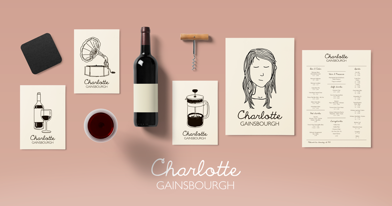 Charlotte Gainsbourgh Wine And Craft Beer Bar Nick Bampton Design