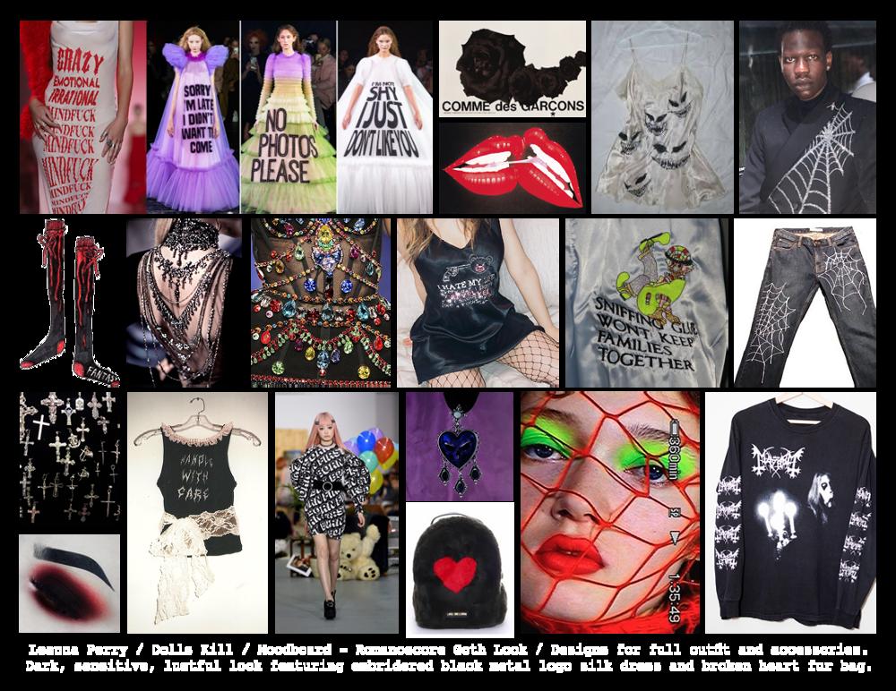 Dolls Kill Gothic Fashion Designs Leanna Perry