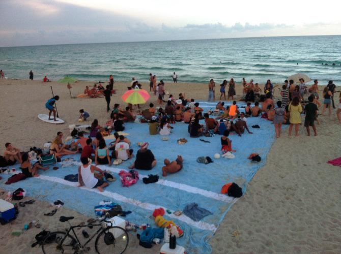 Beach Towel Misael Soto